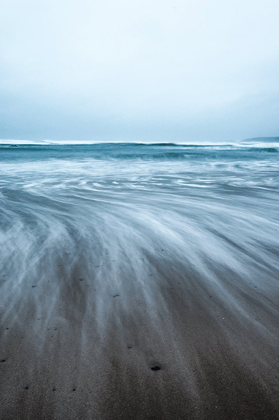 A wet Freshwater West
