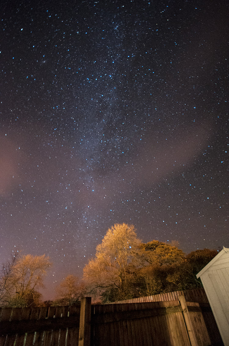 The Milky Way, Wales