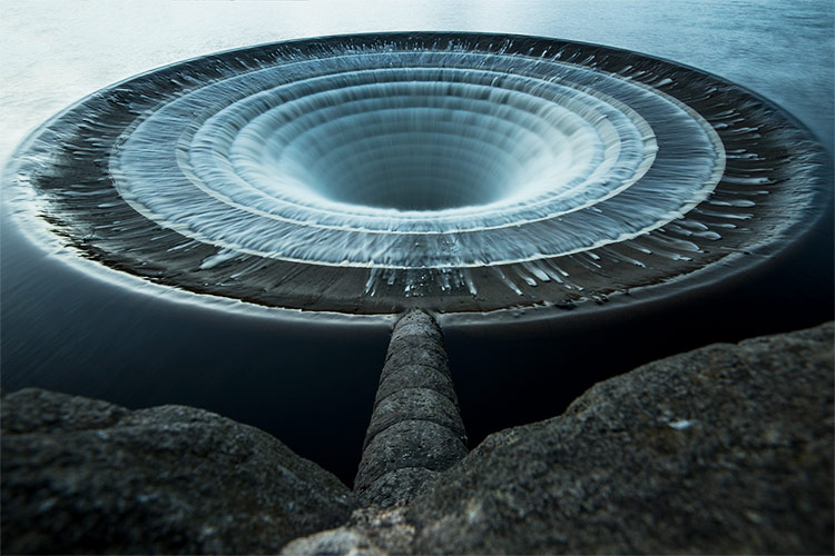 Ladybower Reservoir Plughole Jonathan Bean Photography