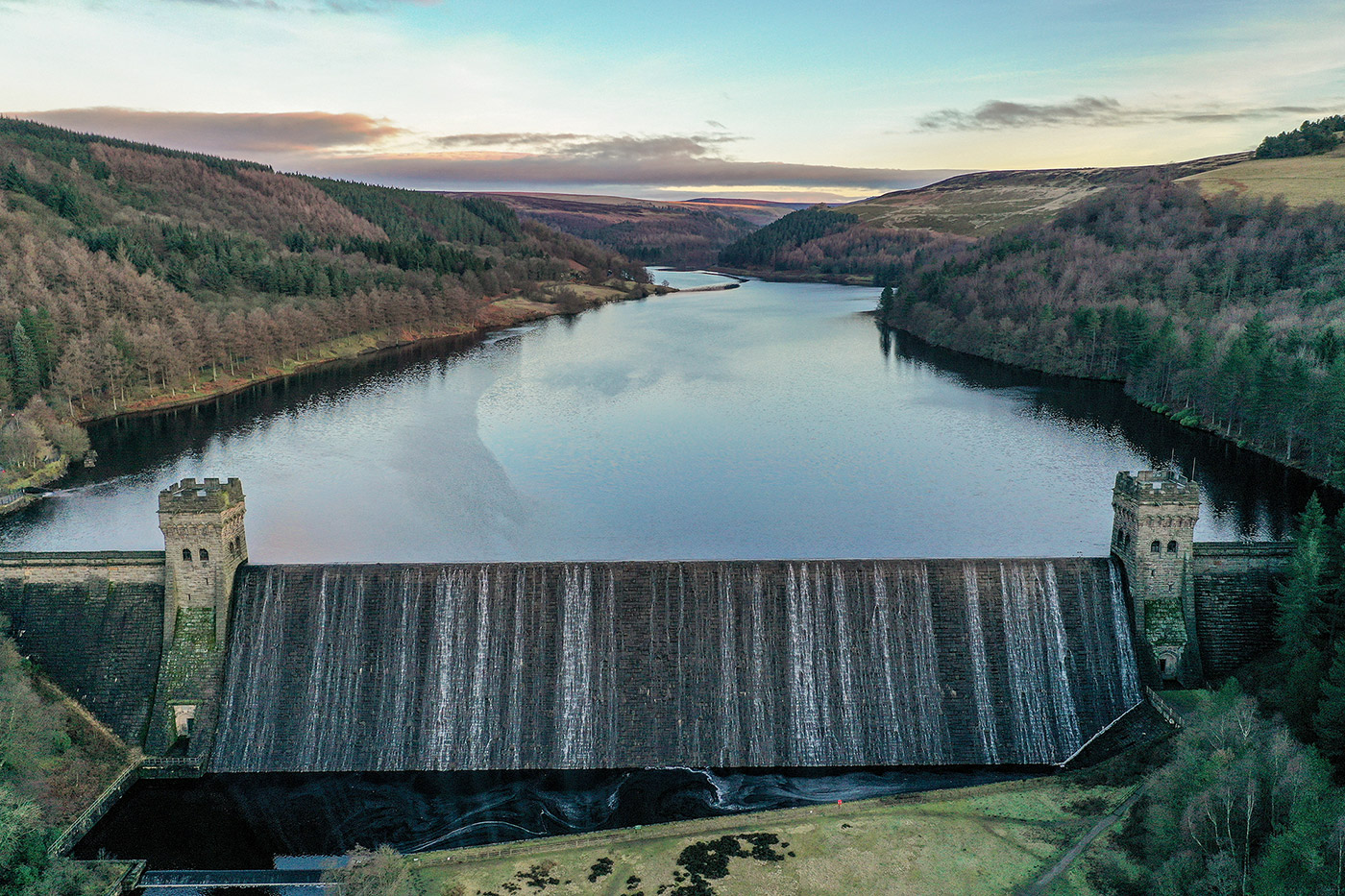 Jonathan Bean Photography Derwent Dam Peak District