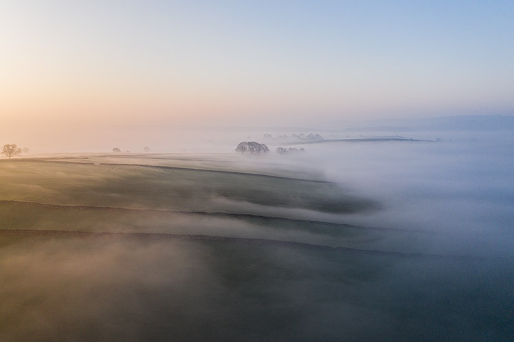 Jonathan Bean Photography Misty fields Peak District