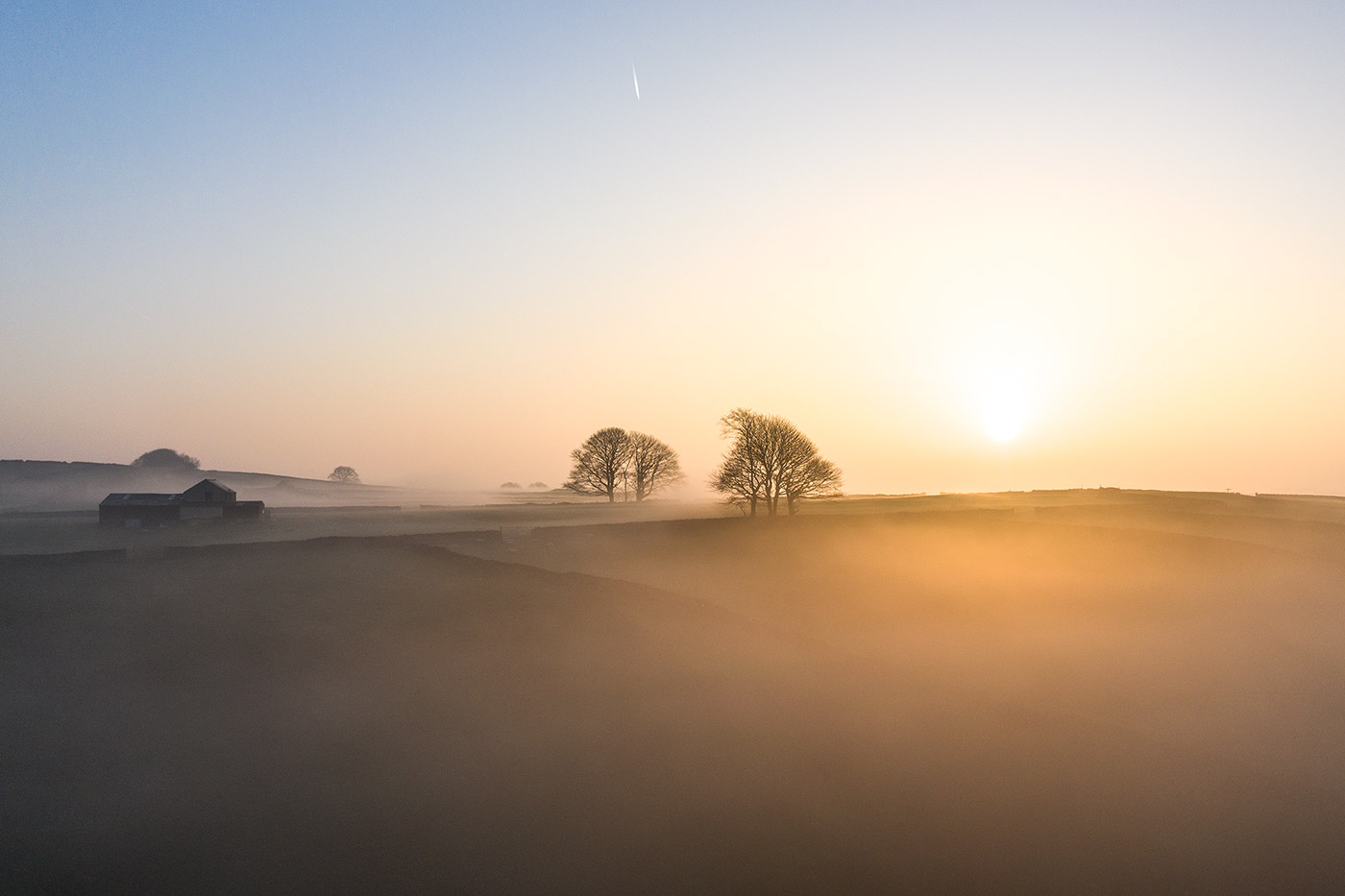 Jonathan Bean Photography Farm Sunrise Peak District